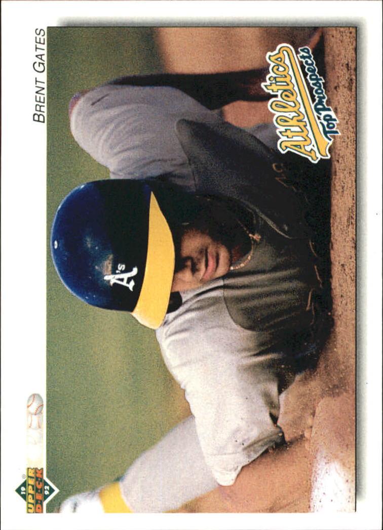 1992 Upper Deck Minors #145 Brent Gates