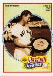 1992 Upper Deck Williams Wax Boxes #31 Ted Williams/1946 and 1949 MVP