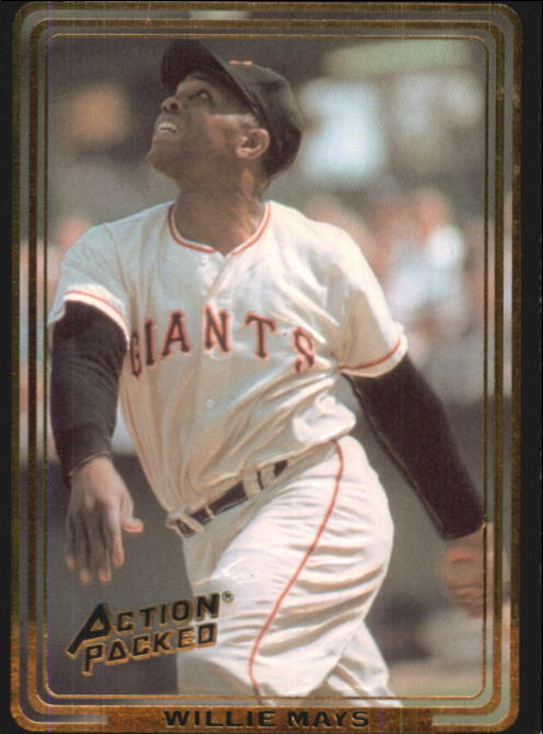 1992 Action Packed ASG #14 Willie Mays