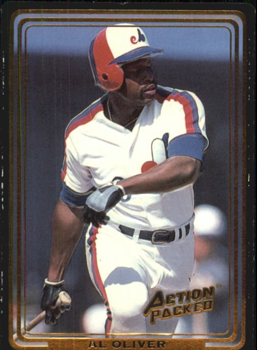 1992 Action Packed ASG #68 Al Oliver