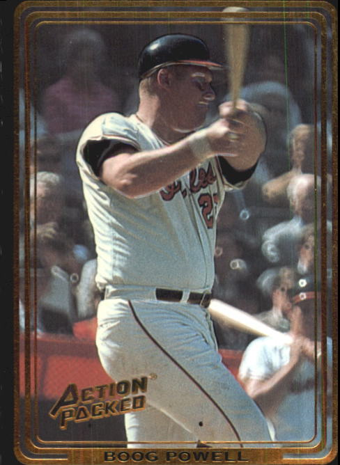 1992 Action Packed ASG #80 Boog Powell