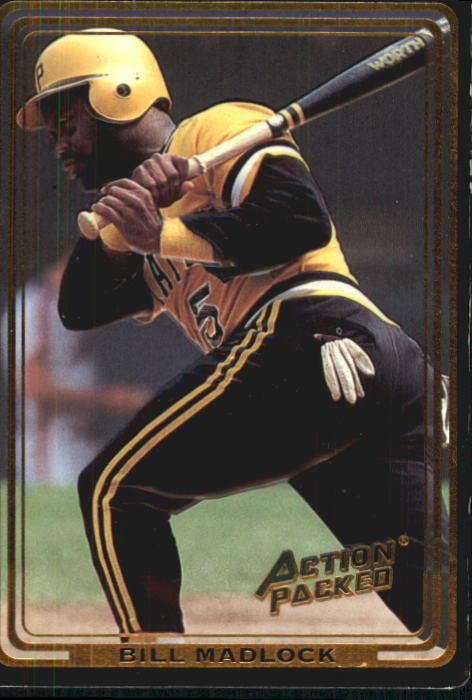 1992 Action Packed ASG #82 Bill Madlock