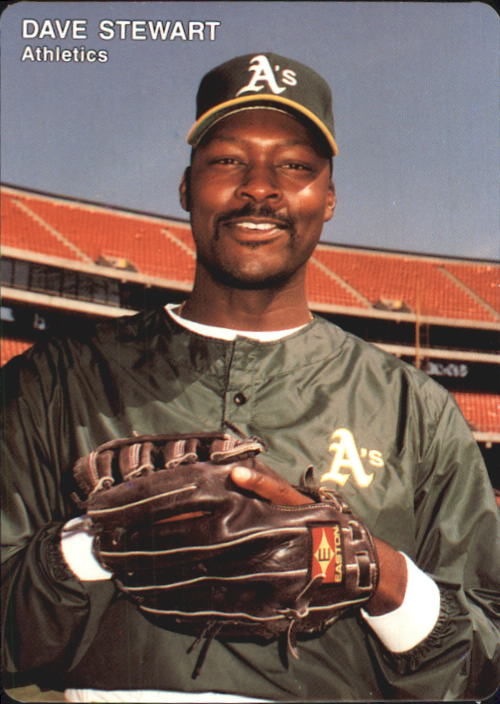 1992 A's Mother's #5 Dave Stewart