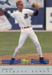 1992 Classic/Best Blue Bonus #BC7 Chipper Jones