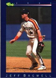 1992 Classic Game #187 Jeff Bagwell