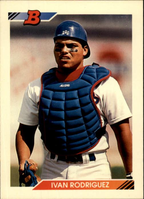 1992 Bowman #1 Ivan Rodriguez