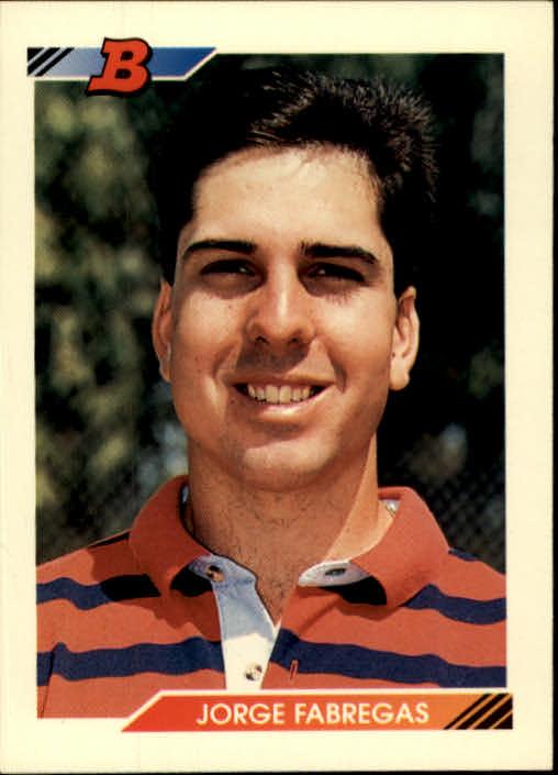 1992 Bowman #8 Jorge Fabregas RC
