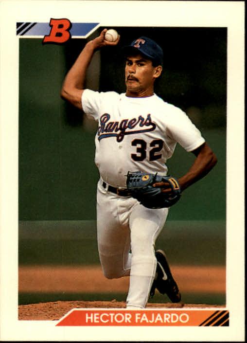 1992 Bowman #22 Hector Fajardo RC
