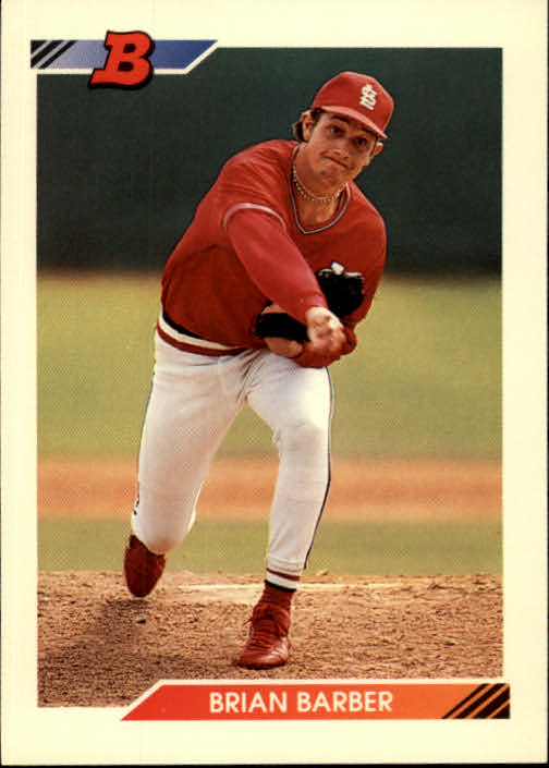 1992 Bowman #29 Brian Barber RC