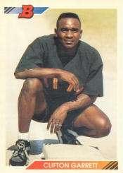 1992 Bowman #51 Clifton Garrett RC