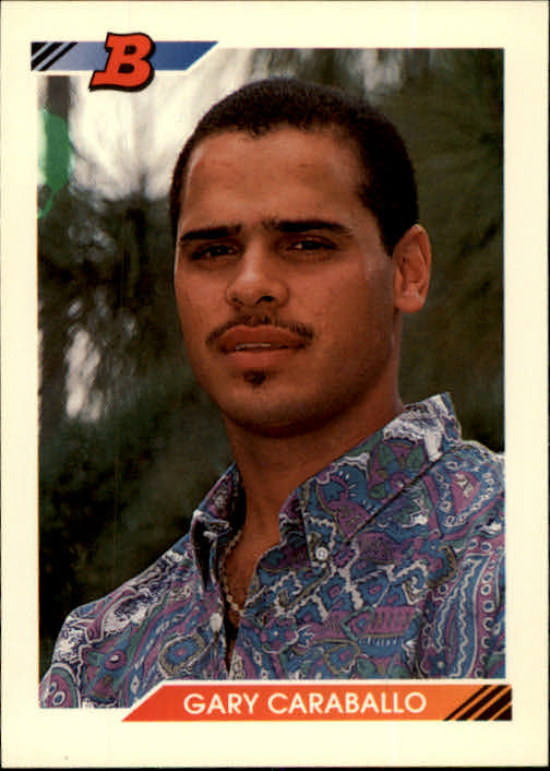 1992 Bowman #54 Gary Caraballo RC