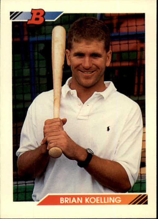 1992 Bowman #65 Brian Koelling RC
