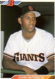 1992 Bowman #67 John Patterson RC