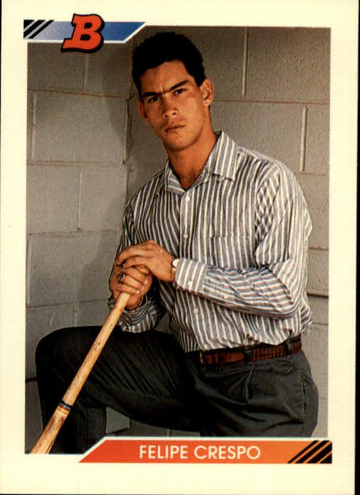 1992 Bowman #77 Felipe Crespo RC