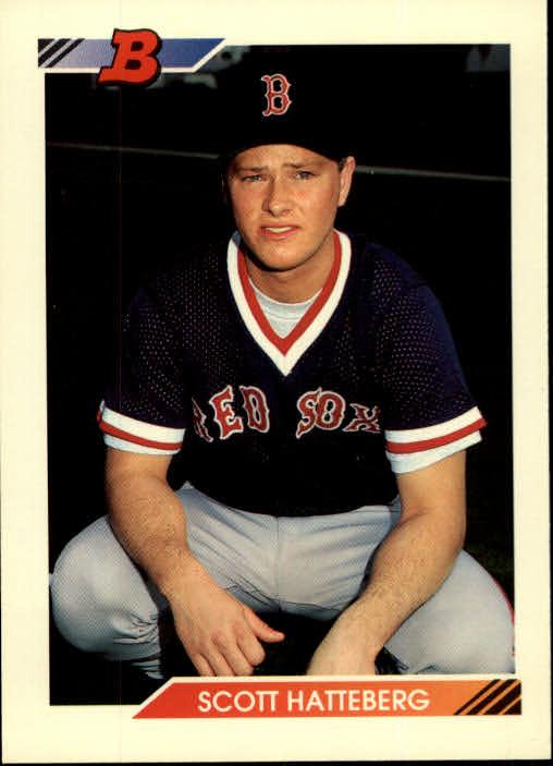 1992 Bowman #83 Scott Hatteberg RC