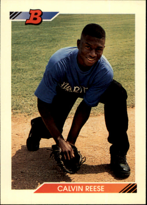 1992 Bowman #86 Pokey Reese RC