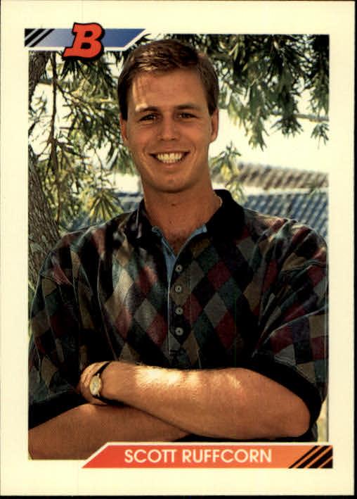 1992 Bowman #88 Scott Ruffcorn RC