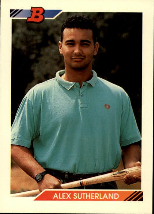 1992 Bowman #123 Alex Sutherland