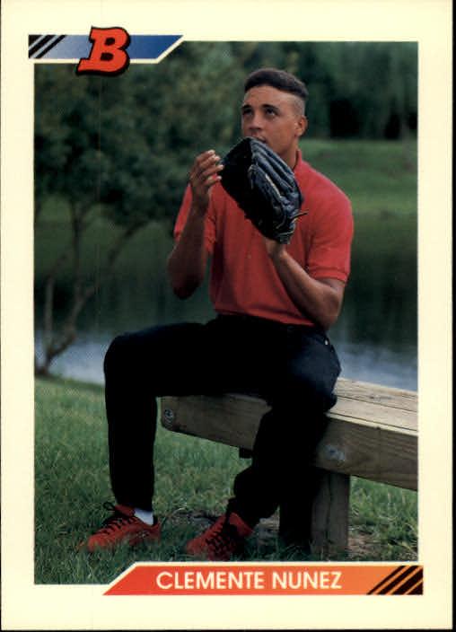1992 Bowman #417 Clemente Nunez RC