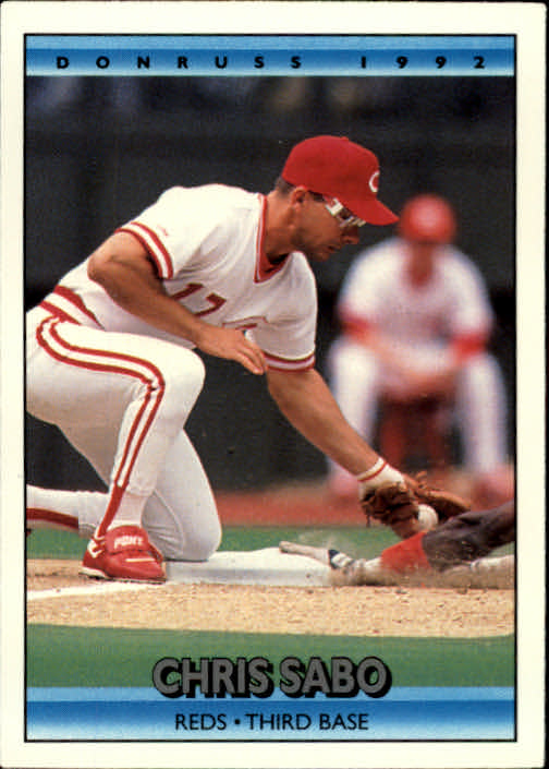 1992 Donruss #50 Chris Sabo