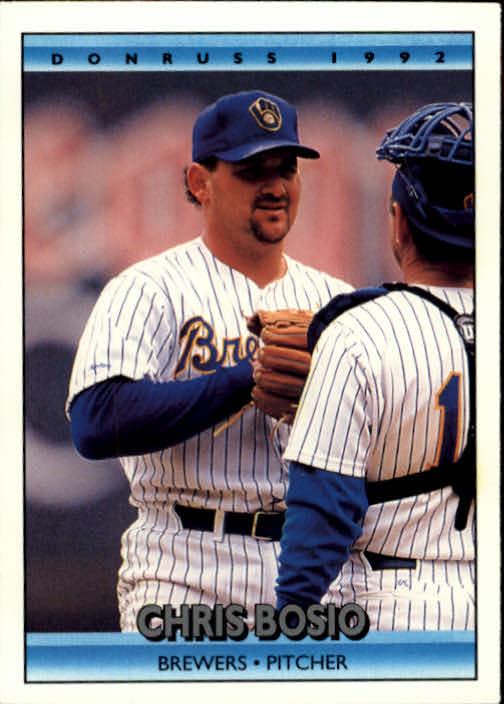 1992 Donruss #471 Chris Bosio
