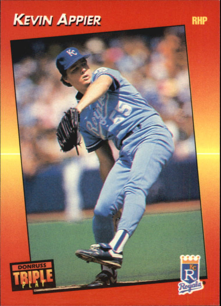 1992 Triple Play #8 Kevin Appier