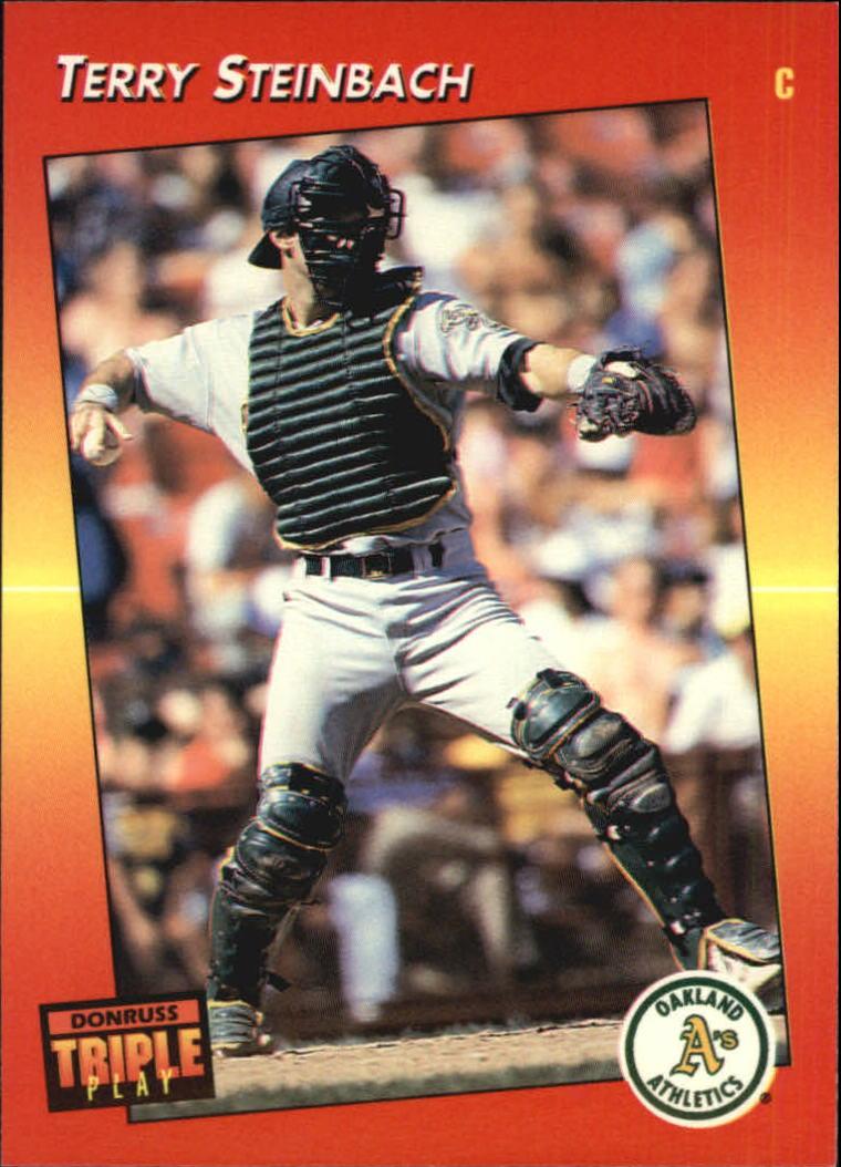 1992 Triple Play #10 Terry Steinbach