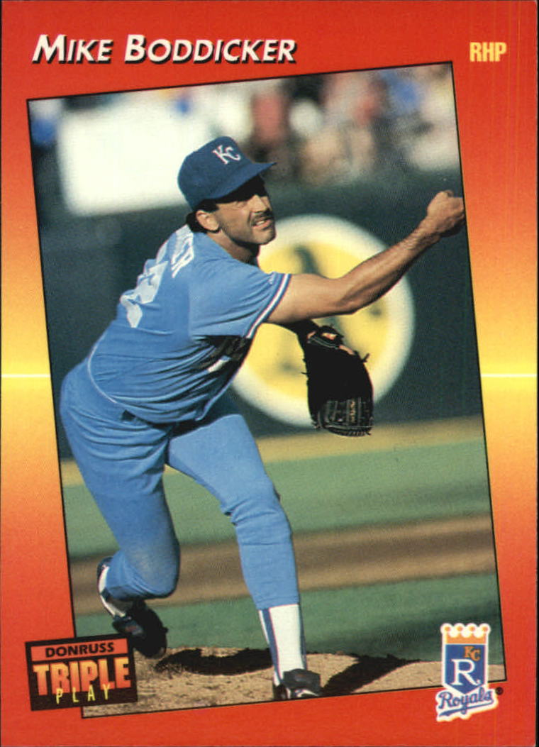 1992 Triple Play #12 Mike Boddicker