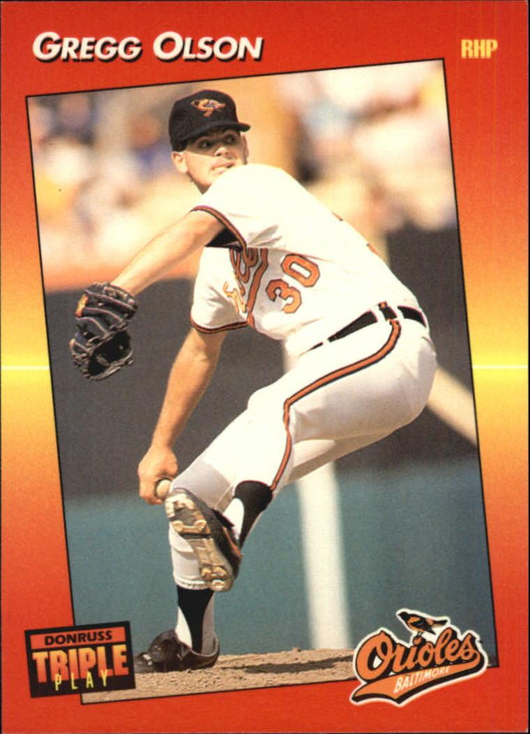 1992 Triple Play #13 Gregg Olson