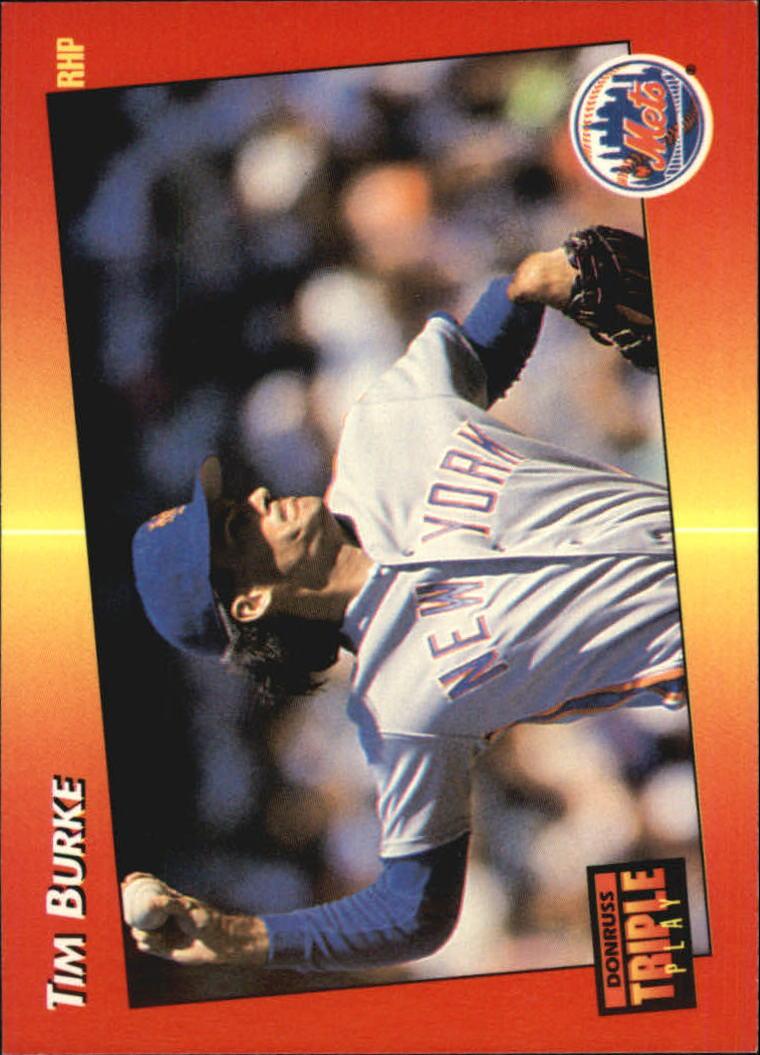 1992 Triple Play #14 Tim Burke