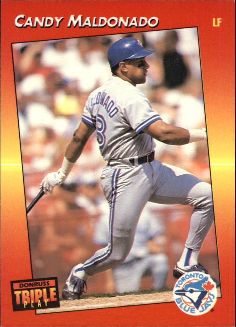 1992 Triple Play #15 Candy Maldonado
