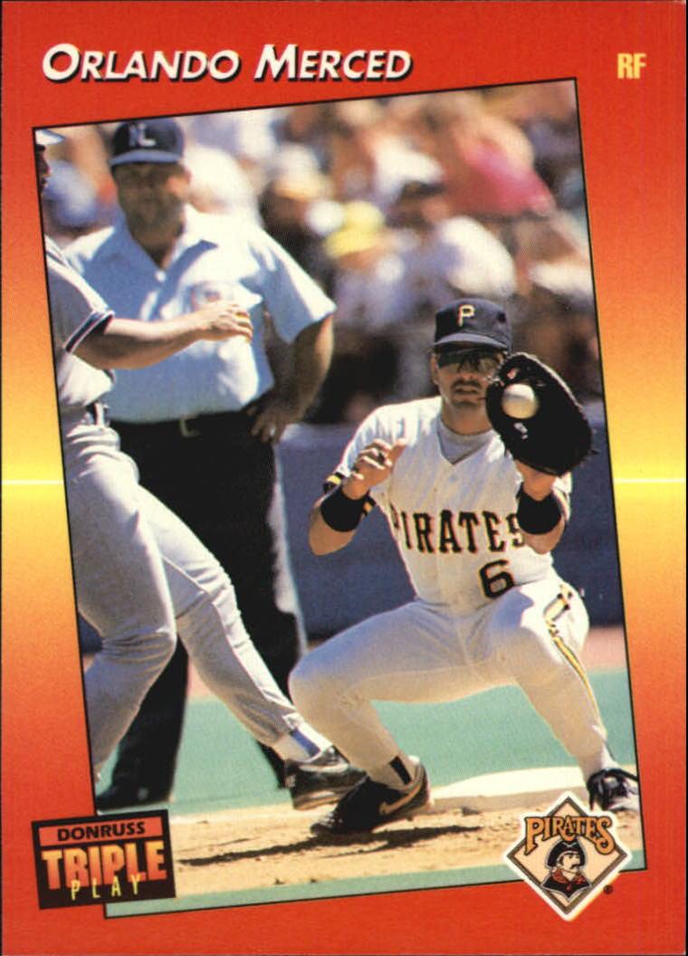 1992 Triple Play #16 Orlando Merced