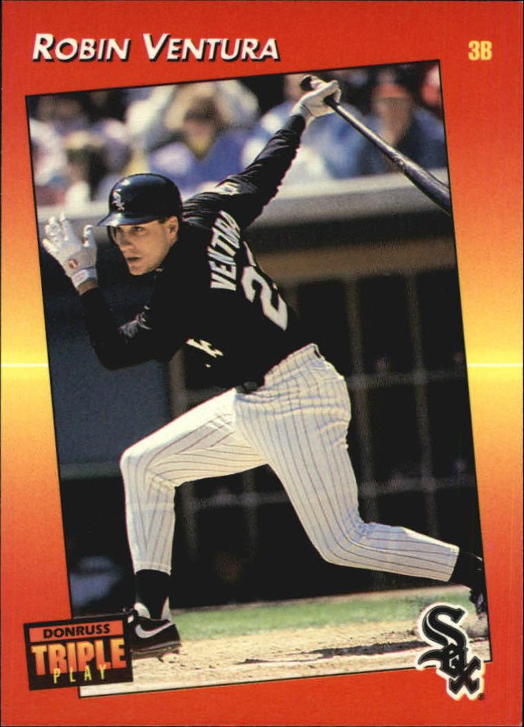 1992 Triple Play #17 Robin Ventura