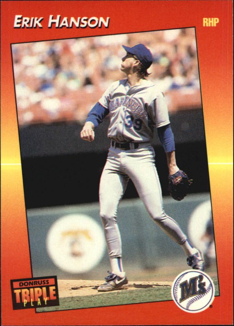 1992 Triple Play #20 Erik Hanson