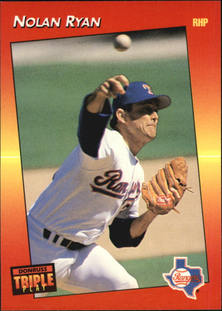 1992 Triple Play #22 Nolan Ryan