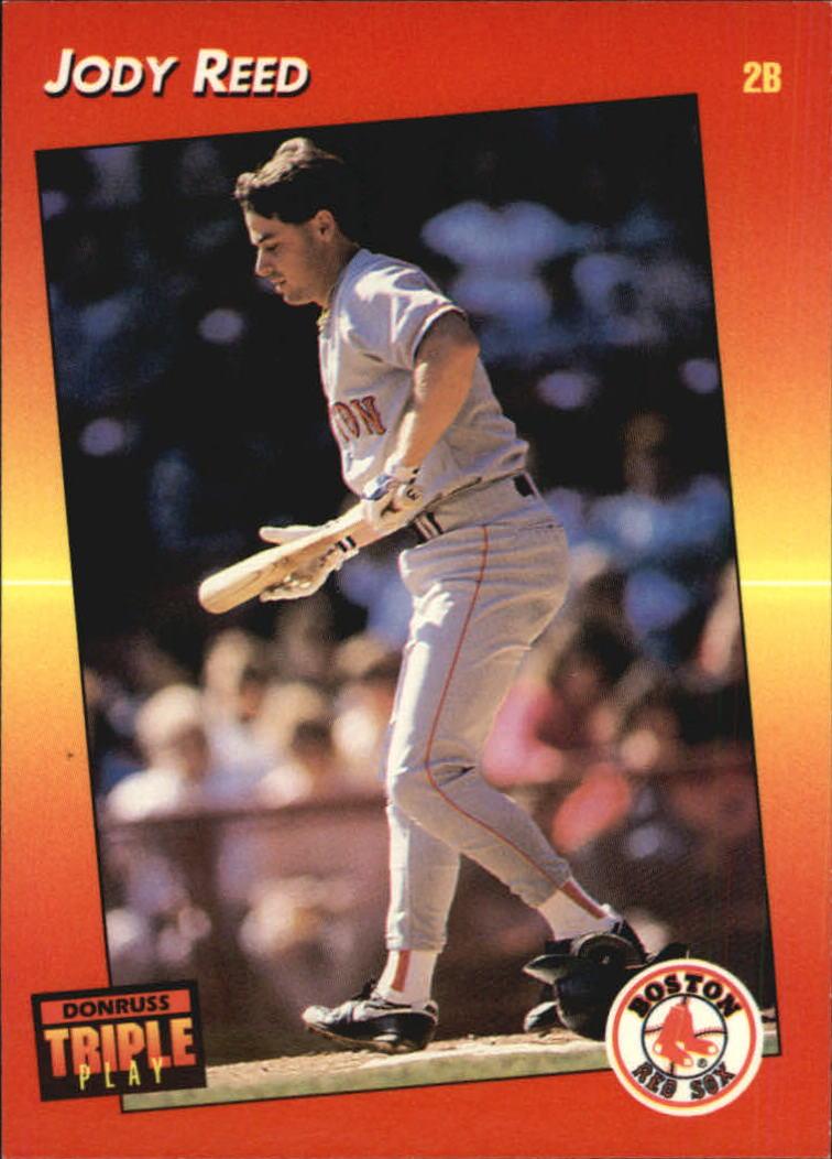 1992 Triple Play #25 Jody Reed