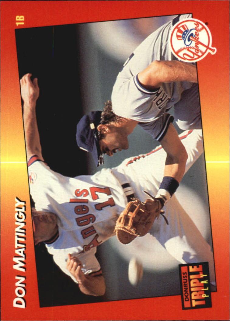 1992 Triple Play #159 Don Mattingly