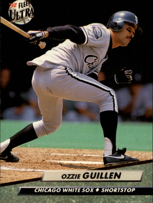 1992 Ultra #35 Ozzie Guillen