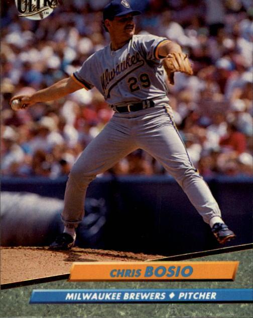 1992 Ultra #379 Chris Bosio