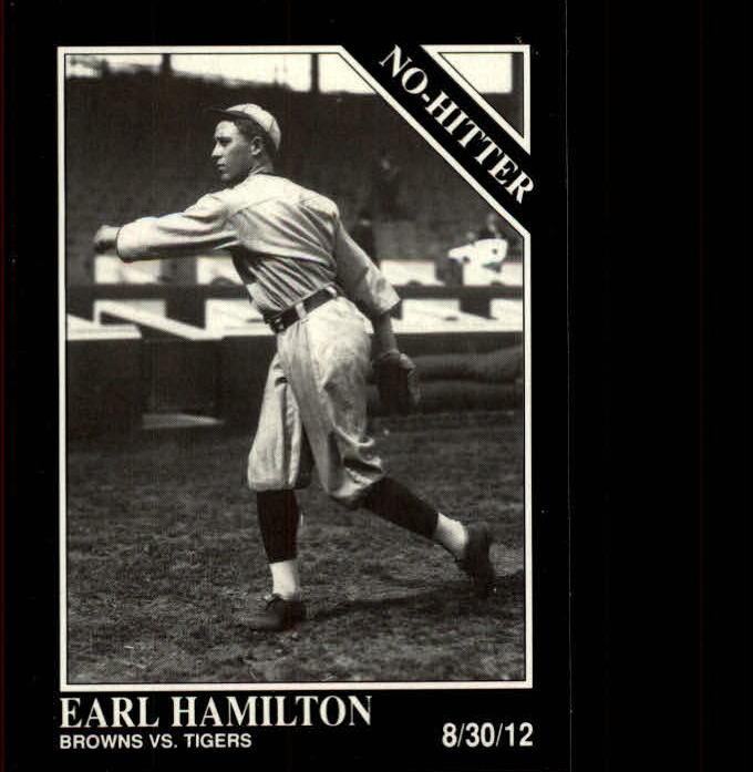 1992 Conlon TSN #339 Earl Hamilton
