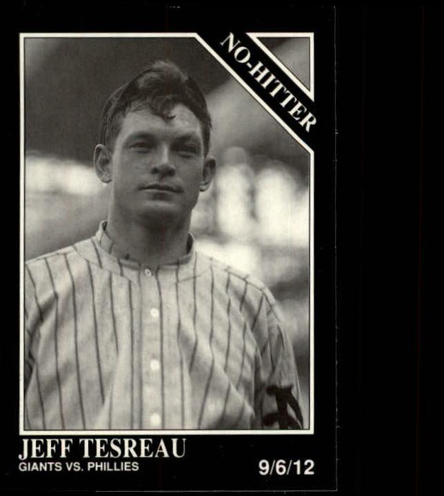 1992 Conlon TSN #340 Jeff Tesreau