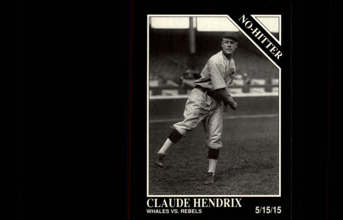 1992 Conlon TSN #343 Claude Hendrix