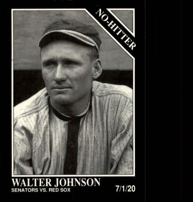 1992 Conlon TSN #353 Walter Johnson