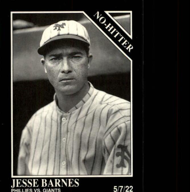 1992 Conlon TSN #355 Jesse Barnes