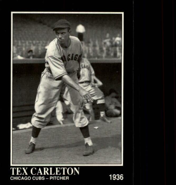 1992 Conlon TSN #378 Tex Carleton