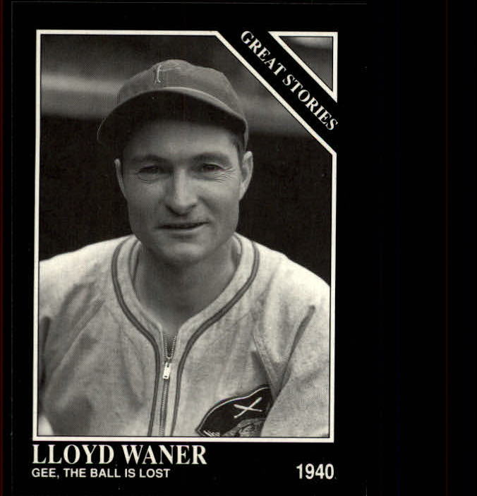 1992 Conlon TSN #429 Lloyd Waner