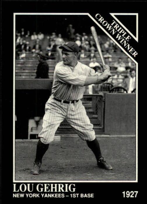 1992 Conlon TSN #529 Lou Gehrig