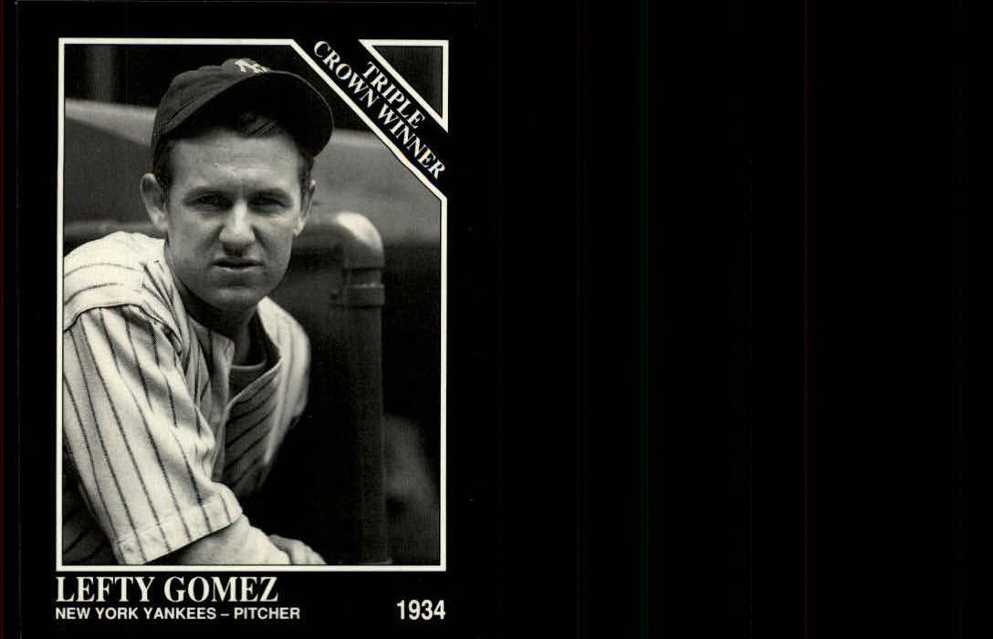 1992 Conlon TSN #536 Lefty Gomez