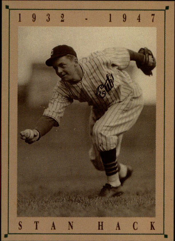 1992 Cubs Old Style #10 Stan Hack