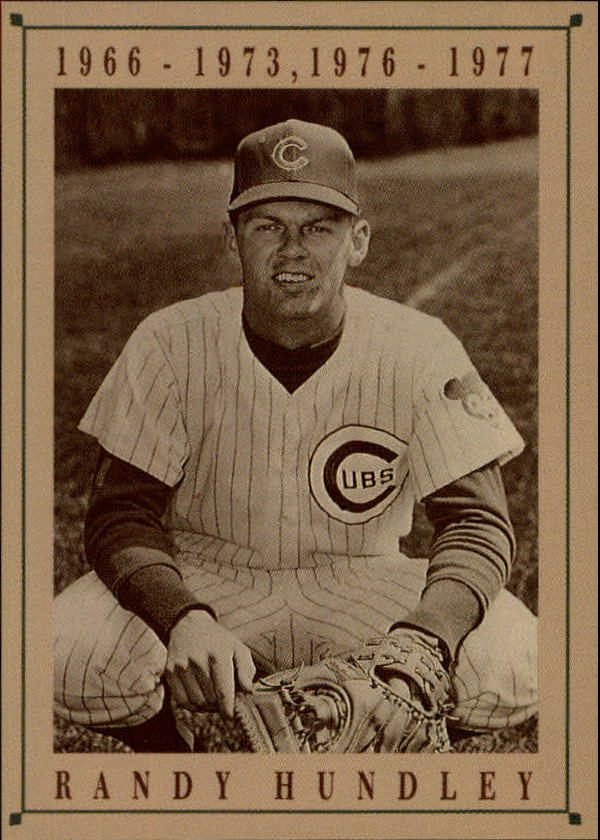 1992 Cubs Old Style #15 Randy Hundley